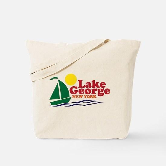 Lake George New York Tote Bag