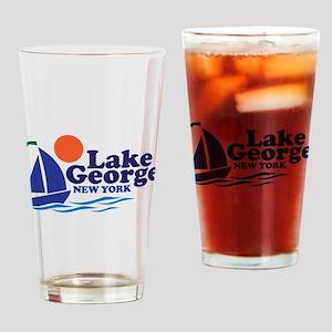 Lake George New York Drinking Glass