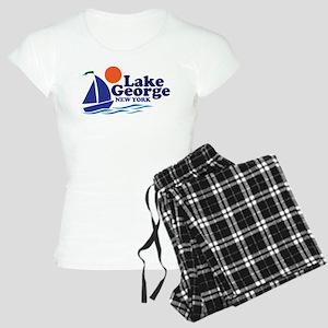 Lake George New York Women's Light Pajamas