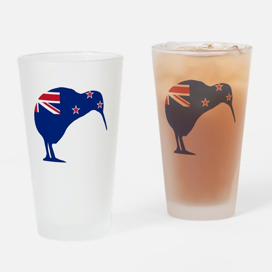 Cute New zealand flag Drinking Glass