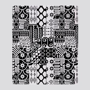 Black and white Geometric African Tribal Pattern T