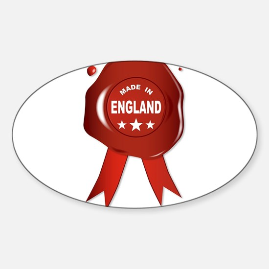 Made In England Decal