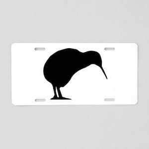 Kiwi Silhouette Aluminum License Plate