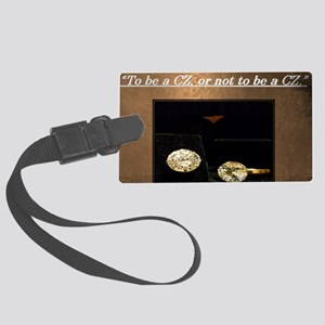 5th Quote; To be a CZ, or not to Large Luggage Tag