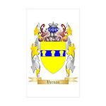 Vernon Sticker (Rectangle 10 pk)