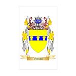 Vernon Sticker (Rectangle 50 pk)