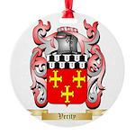 Verity Round Ornament