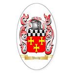 Verity Sticker (Oval 50 pk)