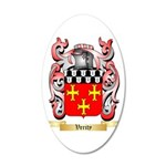 Verity 20x12 Oval Wall Decal
