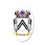 Veresse 35x21 Oval Wall Decal