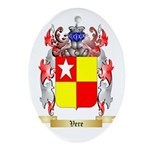 Vere Oval Ornament