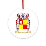 Vere Round Ornament