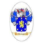 Verdugo Sticker (Oval 50 pk)