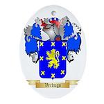 Verdugo Oval Ornament