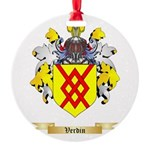 Verdin Round Ornament