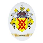 Verdin Oval Ornament