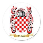 Verbeek Round Car Magnet