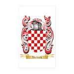 Verbeek Sticker (Rectangle 50 pk)