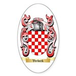 Verbeek Sticker (Oval 50 pk)