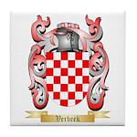 Verbeek Tile Coaster