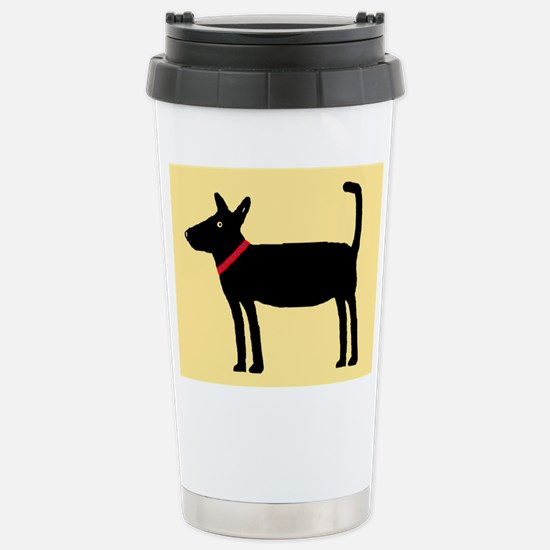 Dan The Black Dog Mugs