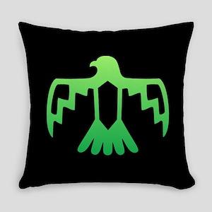 Green Thunderbird Everyday Pillow