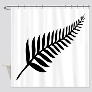 Silver Fern of New Zealand Shower Curtain