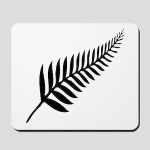 Silver Fern of New Zealand Mousepad