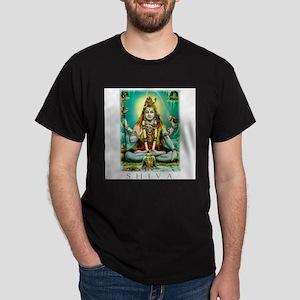 Emerald Lord Shiva Ash Grey T-Shirt