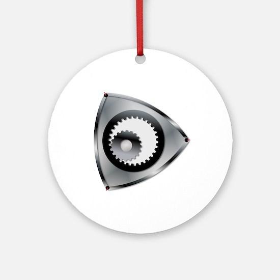 Rotary Engine Rotar Round Ornament