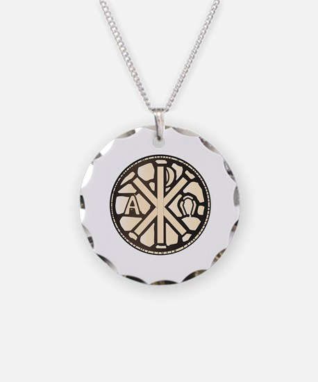 Cool Chi rho Necklace