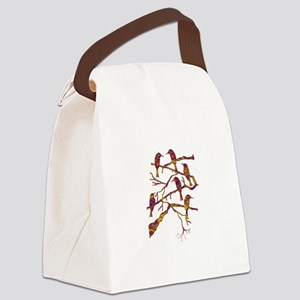 MEETING Canvas Lunch Bag