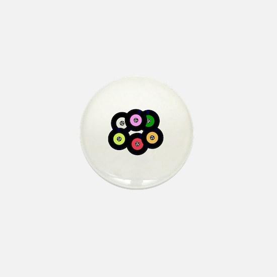 Unique Vinyl record Mini Button