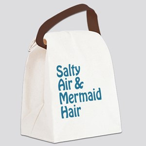 Salty Air Mermaid Hair Canvas Lunch Bag