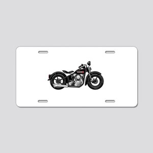 Knucklehead Aluminum License Plate