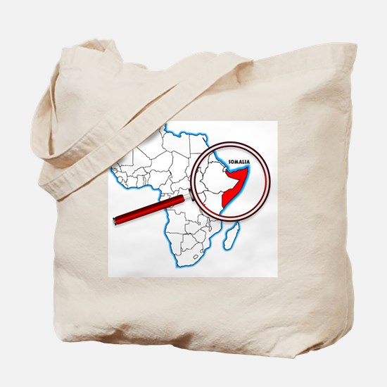 Unique Somalia Tote Bag
