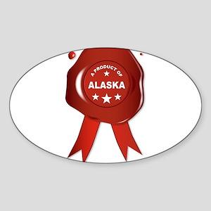 A Product Of Alaska Sticker