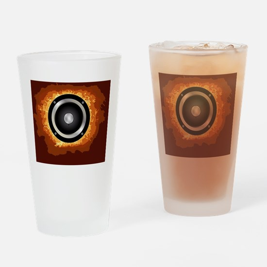 Unique Hi fi Drinking Glass