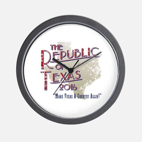 Cute Texas secede Wall Clock