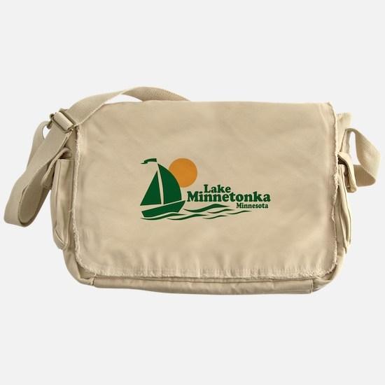 Lake Minnetonka Minnesota Messenger Bag
