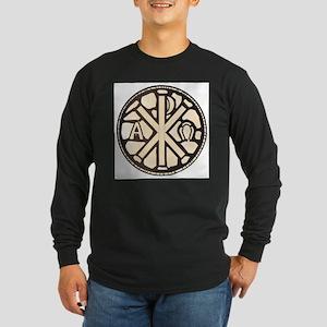 Alpha Omega Stain Glass Long Sleeve T-Shirt