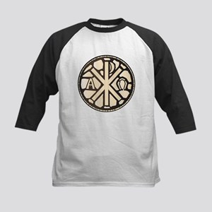 Alpha Omega Stain Glass Baseball Jersey