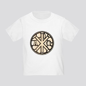 Alpha Omega Stain Glass T-Shirt