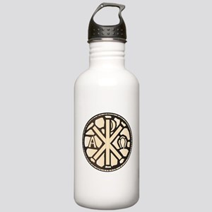 Alpha Omega Stain Glas Stainless Water Bottle 1.0L