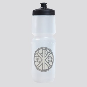 Alpha Omega Stain Glass Sports Bottle