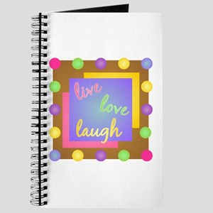 Live Love Laugh Journal
