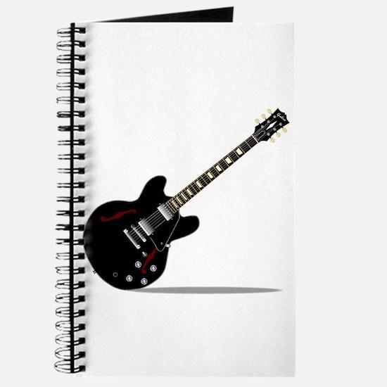 Black Semi Solid Guitar Journal