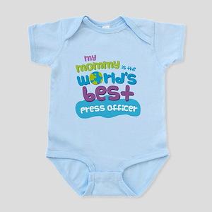 Press Officer Gift for Kids Infant Bodysuit