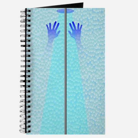Unique Drawing hands Journal