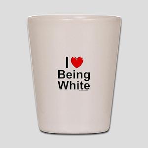Being White Shot Glass
